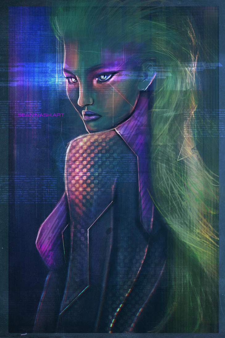 CYBER-CHICK by SeanNash