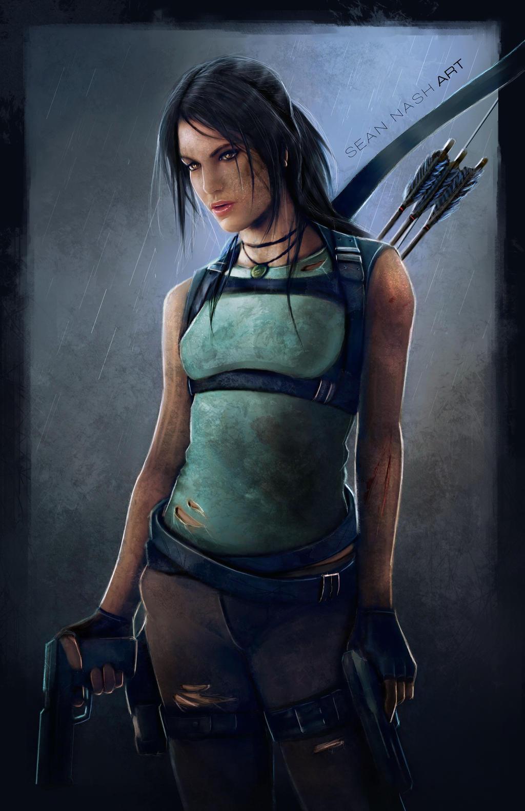 Lara Croft by SeanNash