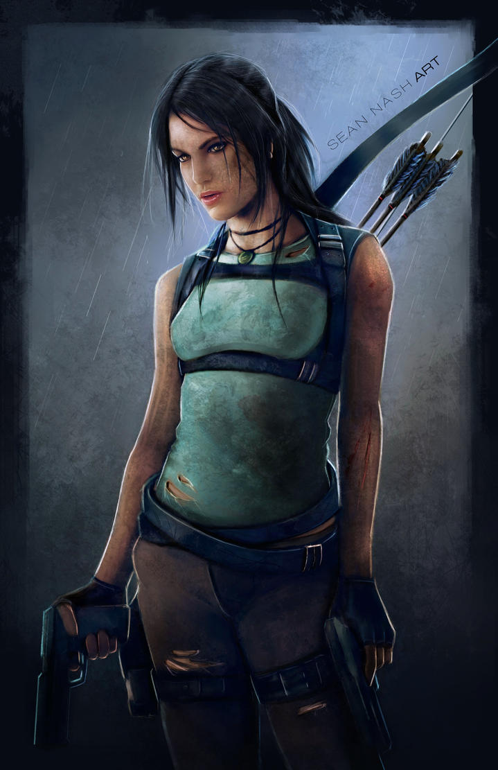 Lara Croft by SeanNash