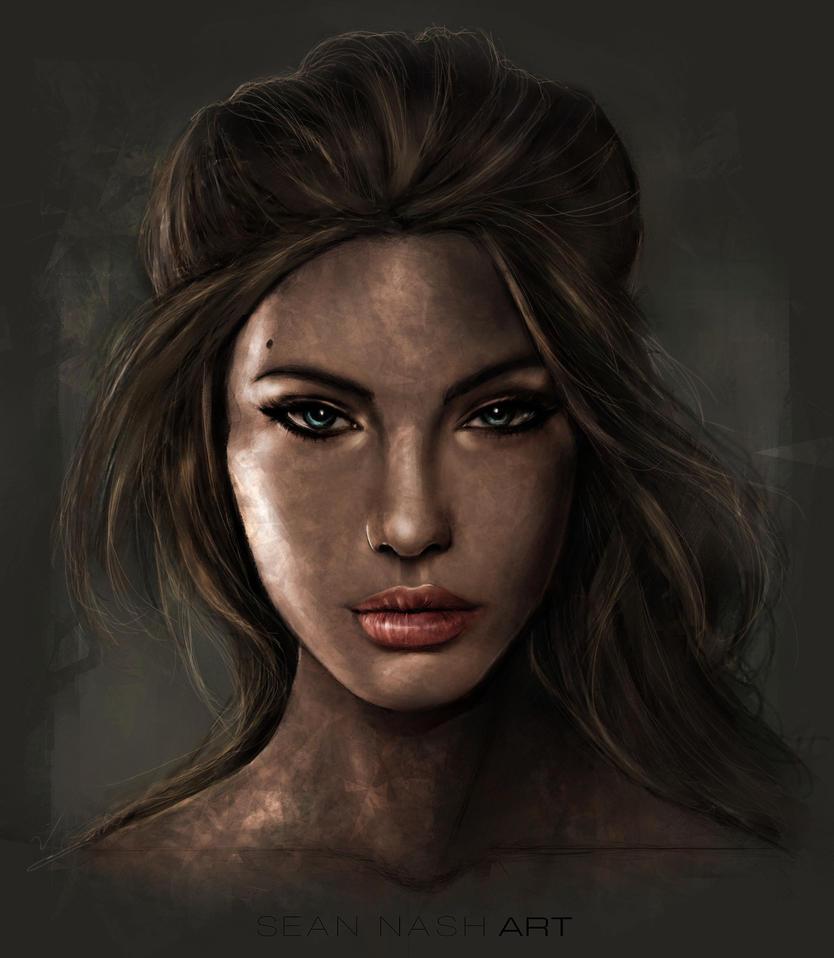 Angelina Jolie by SeanNash
