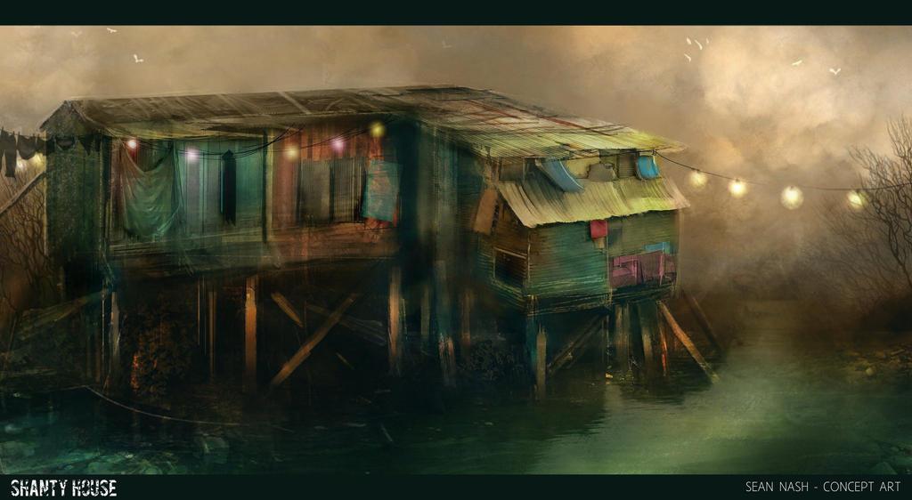 Shanty House - Concept by SeanNash