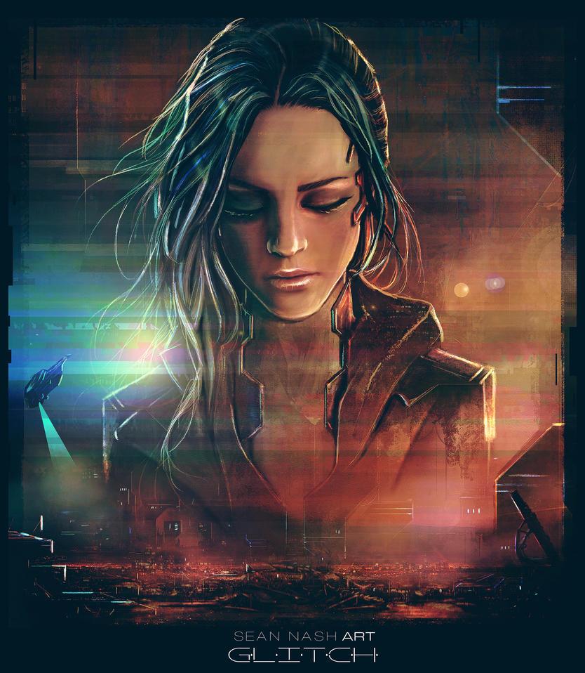 Glitch - Promotional Artwork by SeanNash