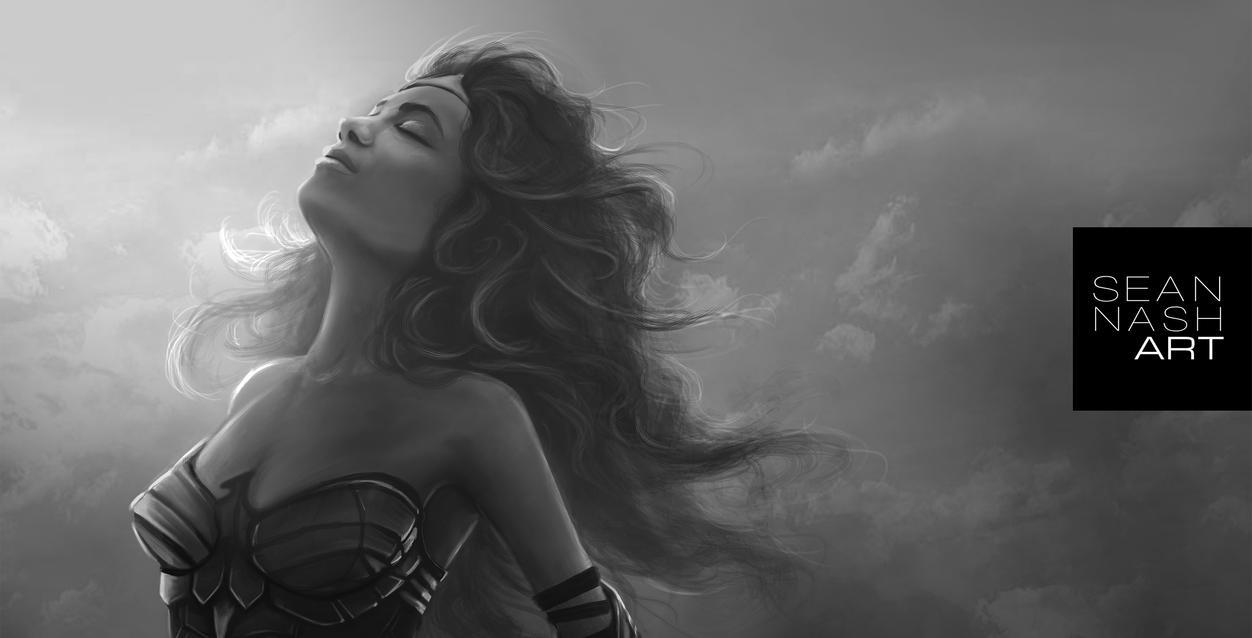 Wonder Woman - WIP by SeanNash