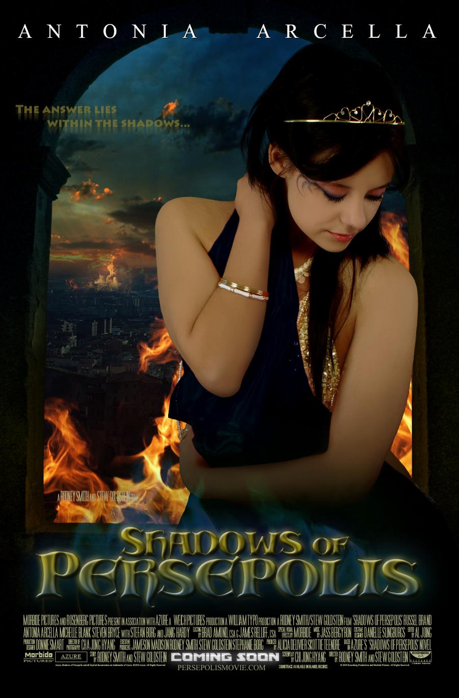 Shadows of Persepolis v.I by FuchsiaBud