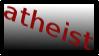 atheist stamp by Kimerii