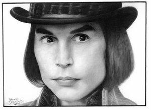 Willy Wonka by bdank by Johnny-Depp-Lovers