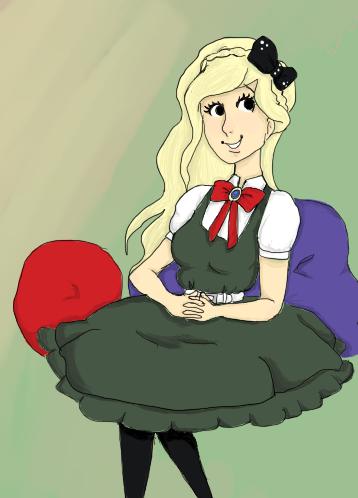 Portrait of a Princess by ucccoffee