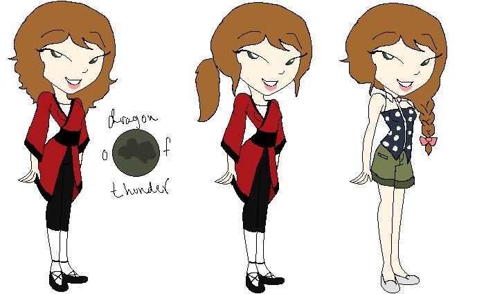 Emilie Desmot Dragon of Thunder by ucccoffee