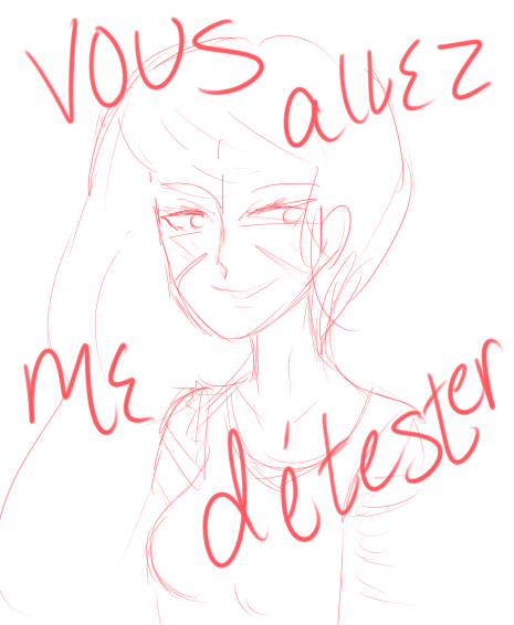 Vous allez me detester by ucccoffee