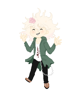 Komaeda Pixel by ucccoffee