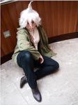 Nagito Komaeda Cosplay 4 by ucccoffee