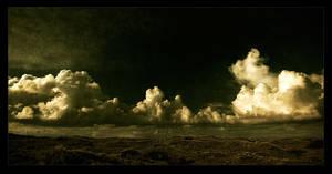 fluffy clouds by raun