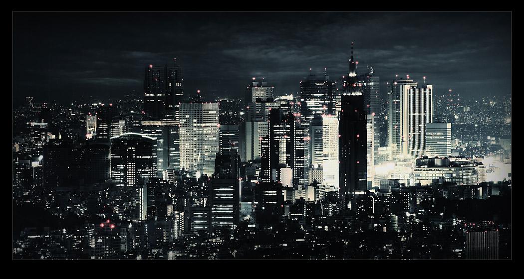 Tokyo View by raun