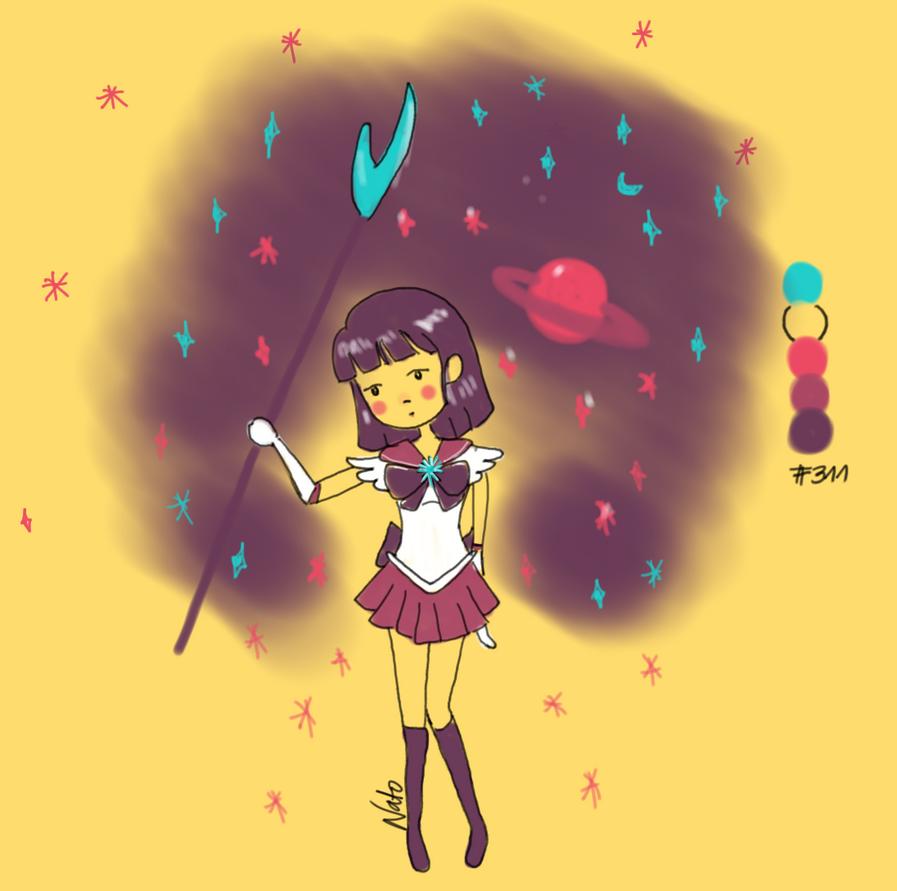 Sailor Saturn by nattopotato