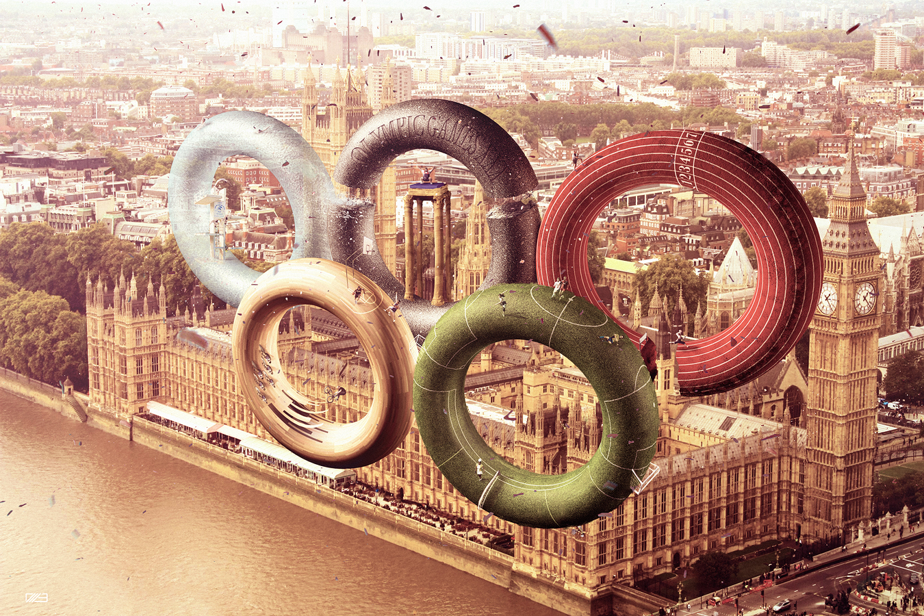 Olympic games 2012 by leox912