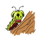 Larva mutante