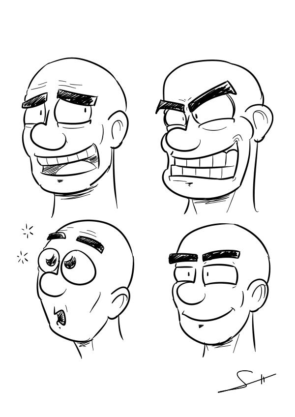 Expresiones by Pzikowee