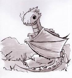 Dragon by Pzikowee