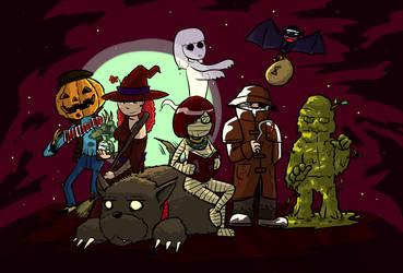 Efecto Icaro - Halloween by Pzikowee