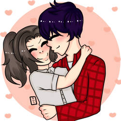 pareja feliz : D by ShayOlemon