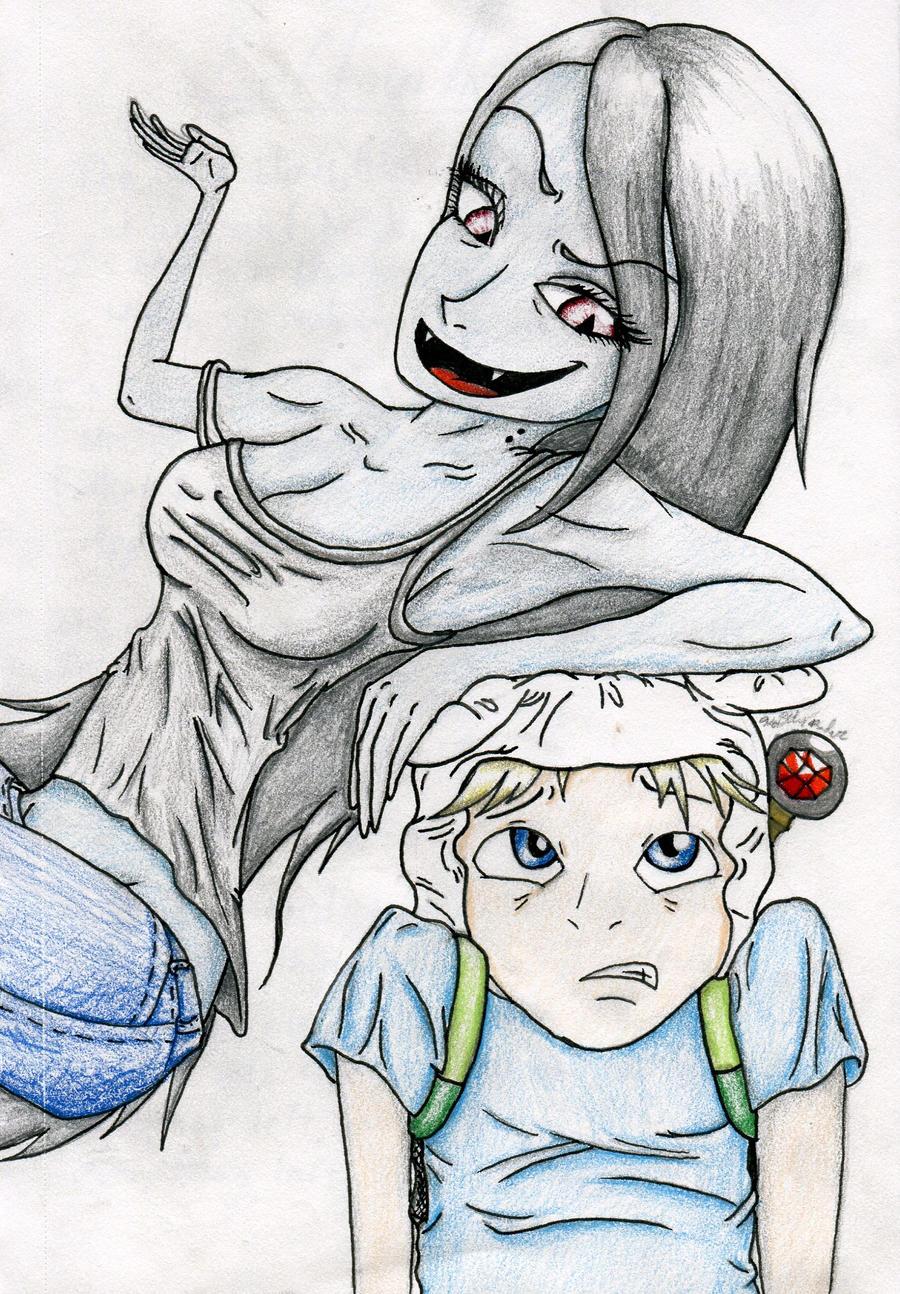 Marceline and Finn(anime) by Kaitlyn23 on DeviantArt