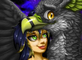 Elix and Xildiac by Kaitlyn23