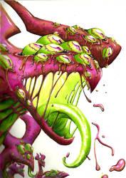 Pink Alien by Kaitlyn23