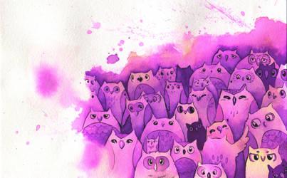 Owls by Kaitlyn23