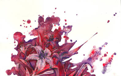 Red Flowers Creations by Kaitlyn23