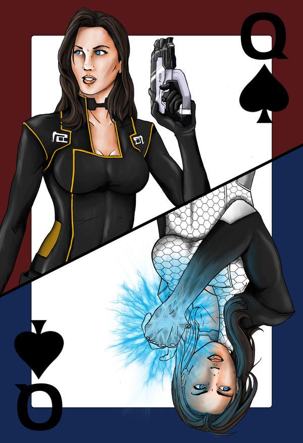 Collab: Queen of Spades by Hidennka