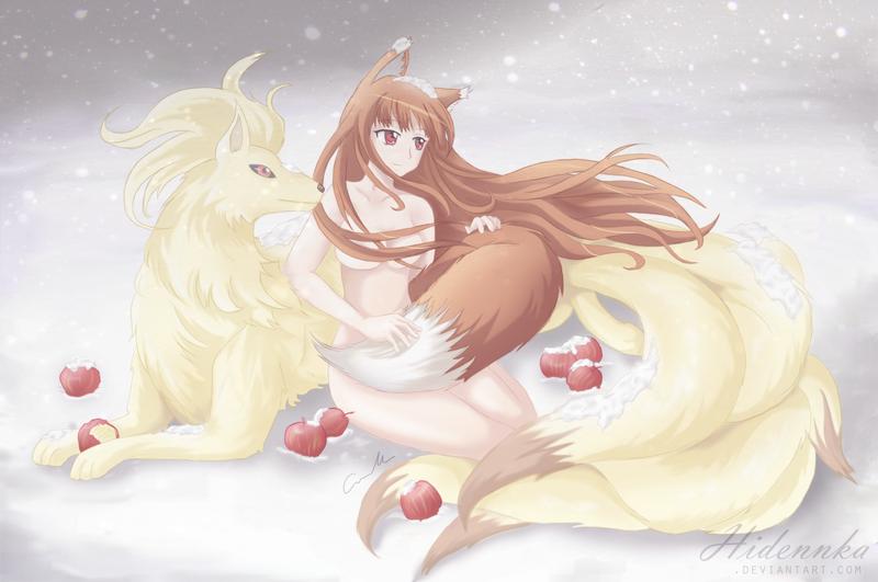 Ookami to Ninetails by Hidennka
