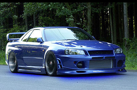 Nissan Skyline R34 GTR by domspeed911