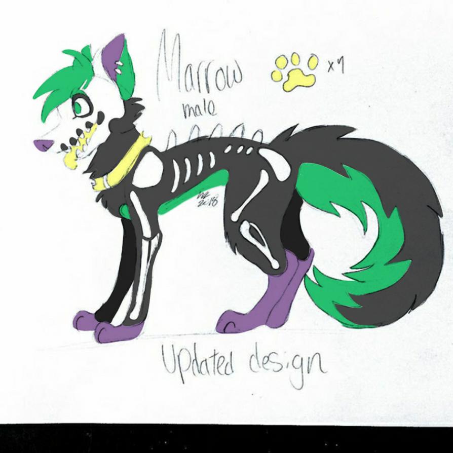 Marrow's updated design  by WolfenLynxKipjen