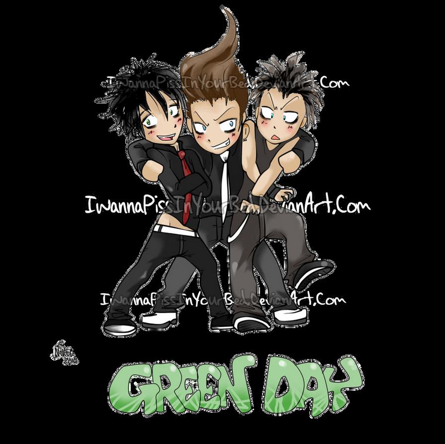 Green Day Chibi
