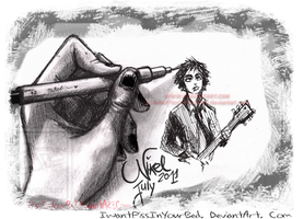 Green Day - Beej's sketch by IwannaPissInYourBed
