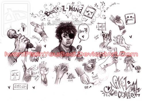 Billie Joe Armstrong Hands