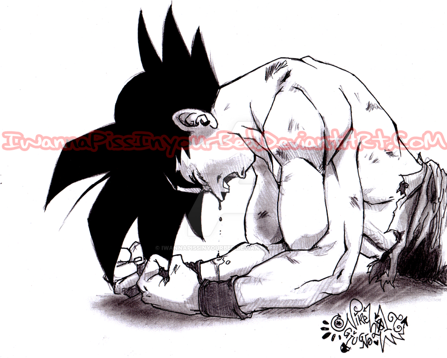 I made Goku Cry by IwannaPissInYourBed