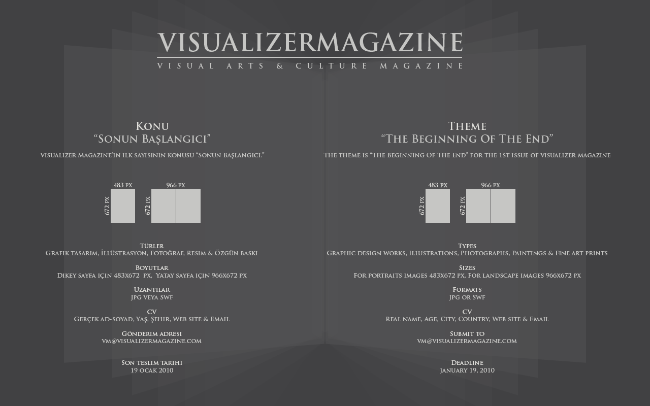 vm_the_beginning_of_the_end by VisualizerMagazine