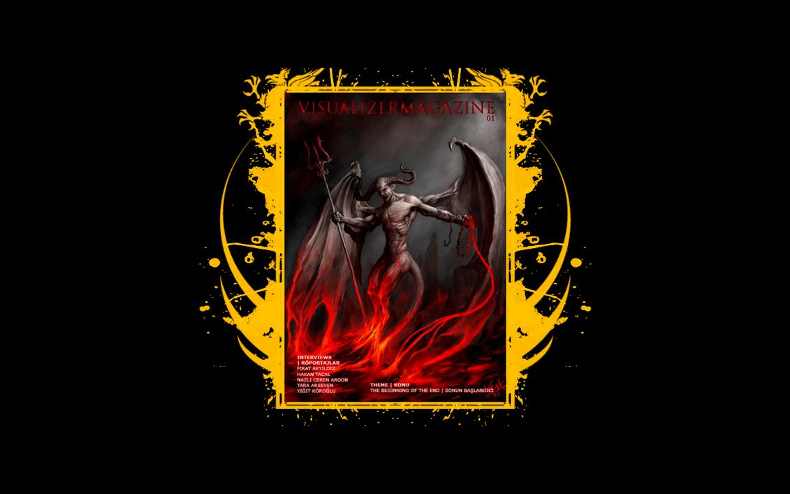 Visualizer Magazine Wallpaper by VisualizerMagazine