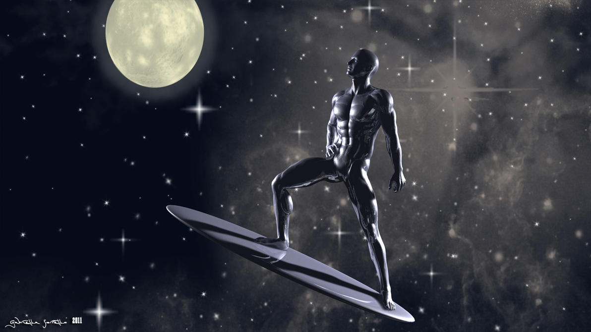 Pin silver surfer 3d abstract anime wallpapers kingdom on for Silver 3d wallpaper