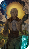 Commission Tarot card