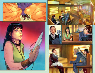 Realmwalkers #7 pages3-4
