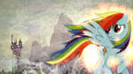 Rainbow Dash's Guilt ~ Wallpaper