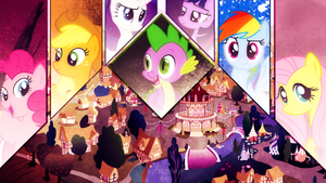 Friendship VIP ~ Wallpaper