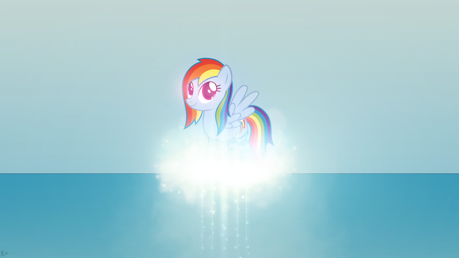 Dashie ~ Wallpaper by Karl97