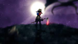 Scarecrow ~ Wallpaper