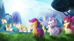 Strong As Horses ~ Wallpaper