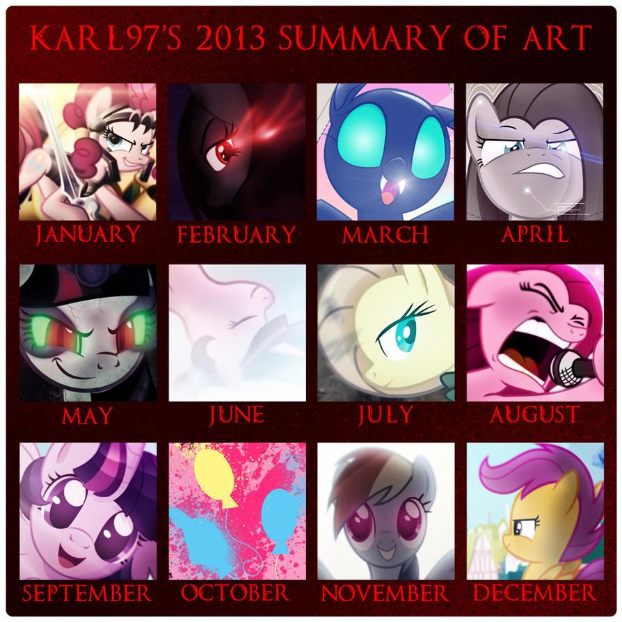Art Summary (2013) by Karl97