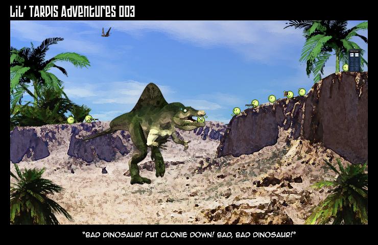 Lil' TARDIS Adventures 003 by DrOfDemonology