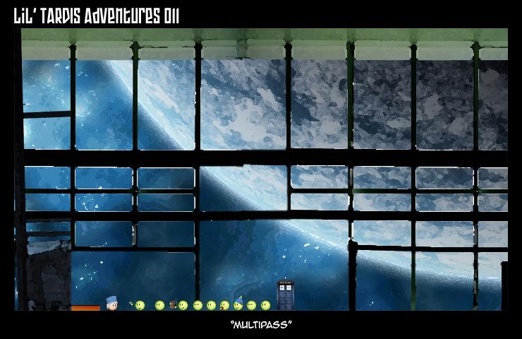 Lil' TARDIS Adventures 011 by DrOfDemonology